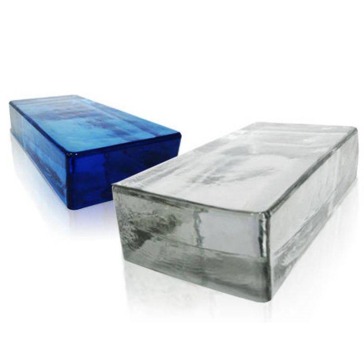 Seves VetroPieno Neutro  Massieve glasbouwblokken