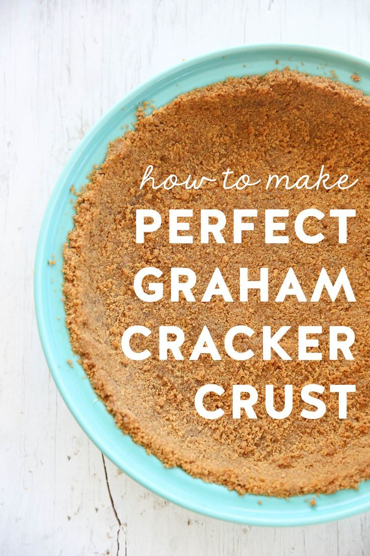 There is nothing quite like a buttery homemade graham cracker crust. The filling options are endless, from cream pies to ice cream, to no-bake cheesecakes. You can pop just about anything in a graham cracker crust. We have lots of pie recipes involving