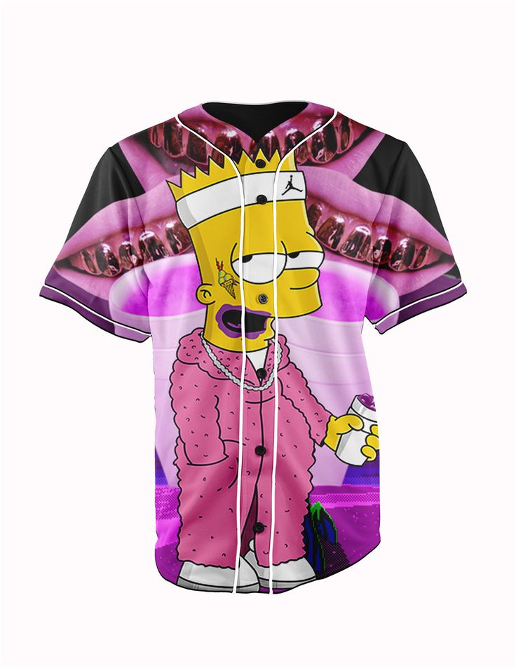 Bart Simpson Button Up March 2017