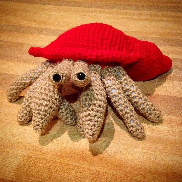 Amigurumi Hermit Crab : 409 best images about ??????? ??????? on Pinterest Free ...