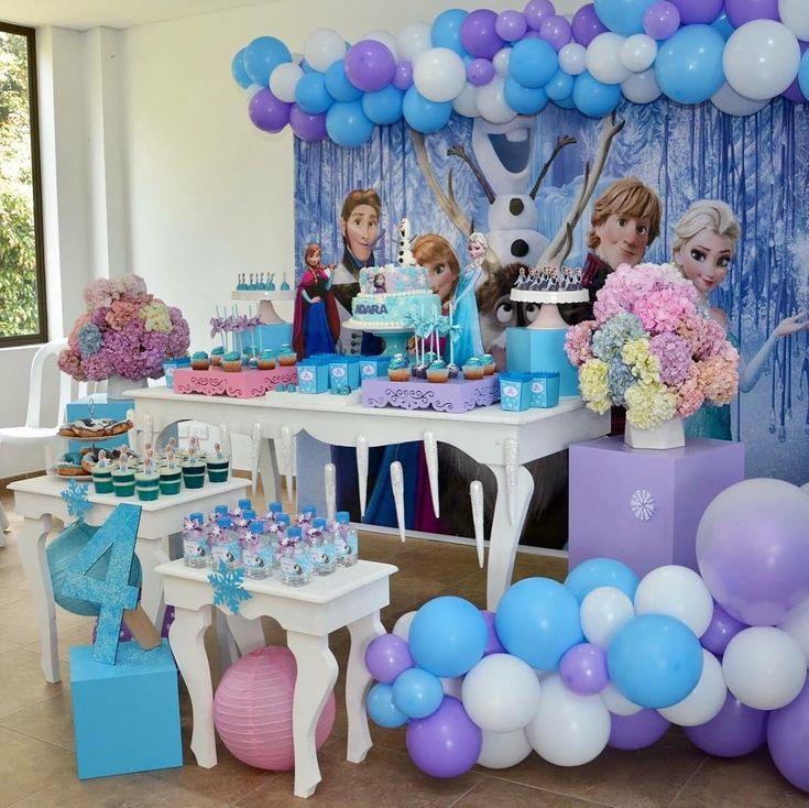 Festa Frozen: passo a passo e 85 ideias encantadoras