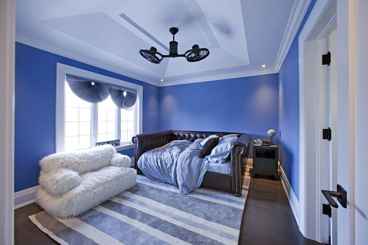 Moulded tray ceilings can be found in every bedroom of the Rondale build, each as spectacular as the last. Our first thought after finishing this room: time to relax.
