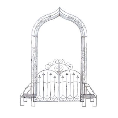 Best 25 metal garden gates ideas on pinterest small for Little garden imports