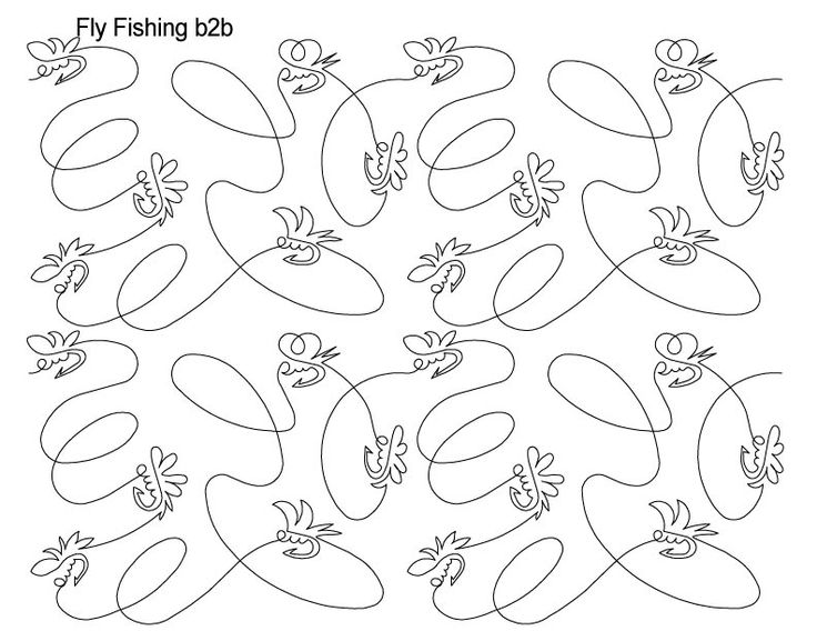 AnneBright.com - Shop   Category: Digitized Designs   Product: Fly Fishing b2b