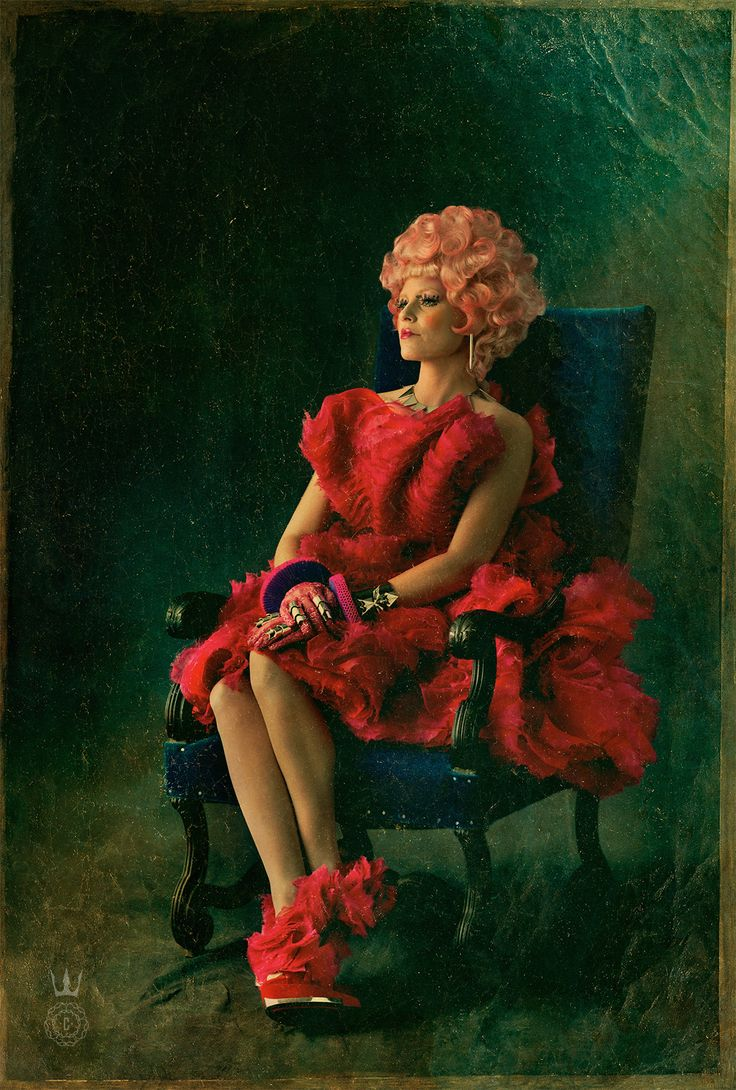 Capitol Couture - Effie Trinket - There's opportunity for crazy and bold jewelry when emulating Effie's style