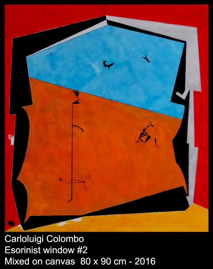 Esorinism, painting, Riolo Terme, Italy, Faenza, Casola Valsenio, art, Colombo, window, future