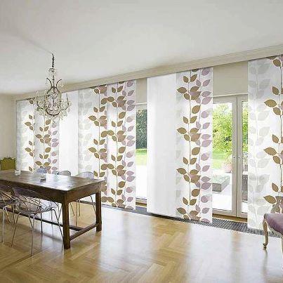 "Beautiful way to ""drape"" a large expanse of windows! www.zavesetajna.com mogućnost printa po narudžbini!!!"