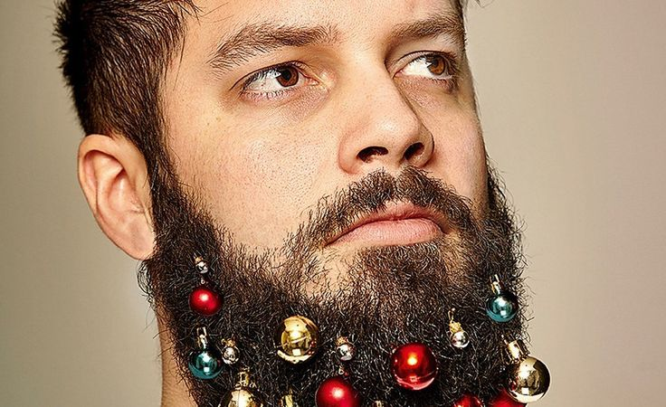 These Guys Created Beard Ornaments To Decorate Your Face For The Holidays buzzfeed.com