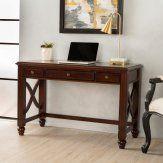 Best Selling Home Crews Cherry Wood Study Desk