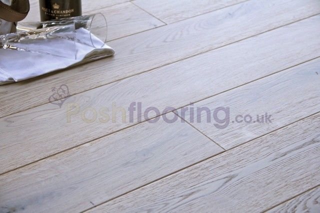 rustic brushed white oak flooring - Google-søk