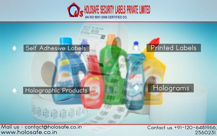 Our #labels allow more creative freedom to enhance the product image and raise consumer awareness