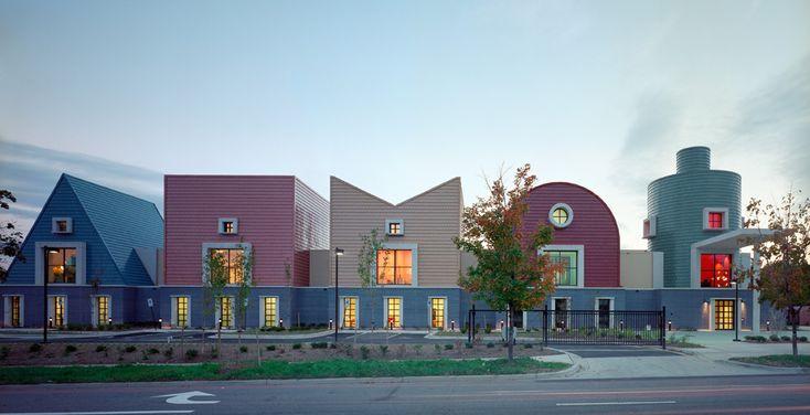 Modern Architecture Washington Dc st. coletta school 2001 - 2006 washington, dc, united states