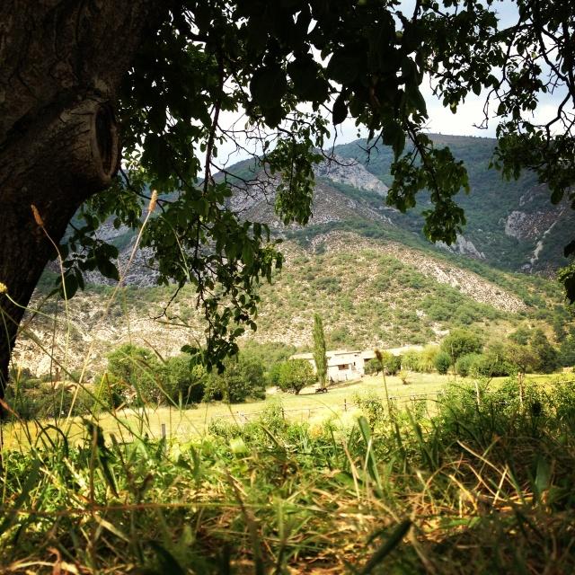 Lange- vallée du Jabron -France