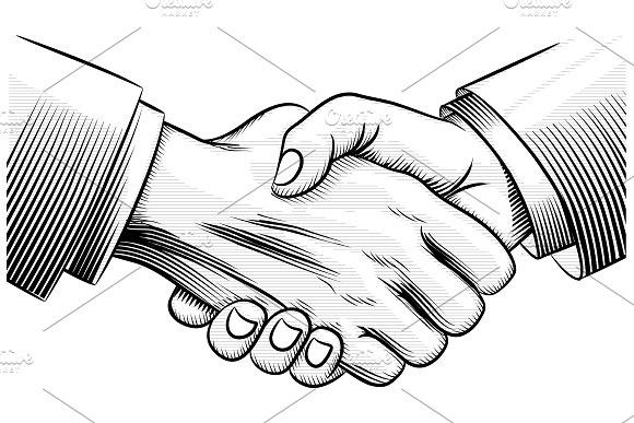 Sketch Handshake Hand Art Drawing Hand Illustration Hand Tattoos Pictures