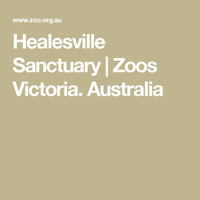 Healesville Sanctuary | Zoos Victoria. Australia. They have koalas and kangaroos.
