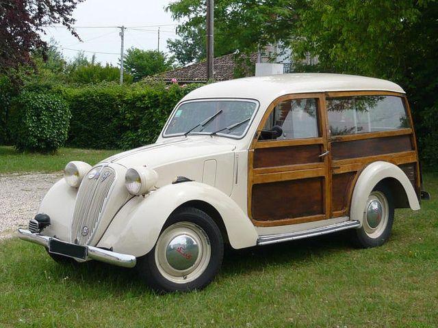 1938 Simca 8 Woodie.