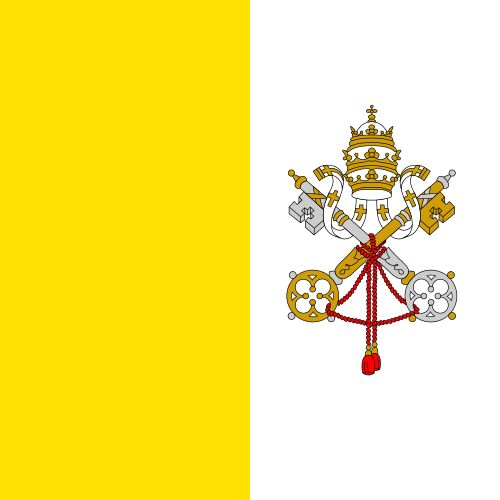 The flag of Vatican City was adopted on June 7, 1929, the year Pope Pius XI signed the Lateran Treaty with Italy, creating a new independent state governed by the Holy See. The Vatican flag is modeled on the flag of the earlier Papal States.