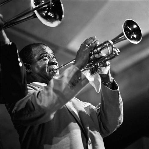 Louis Armstrong, Newport Jazz Festival, 1955