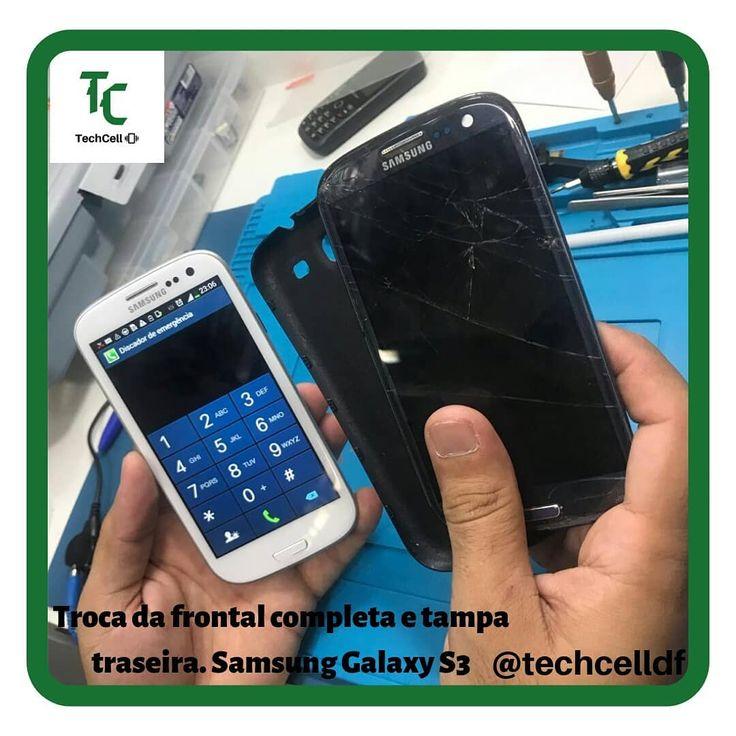 Vollständiger Austausch der Vorder- und Rückseite. Samsung Galaxy S3. 🛠🛠🛠🔧ð …  – df