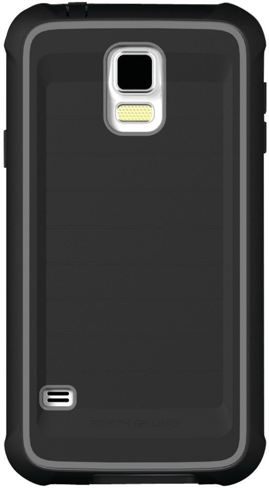 samsung galaxy s 5 shocksuit case black/charcoal