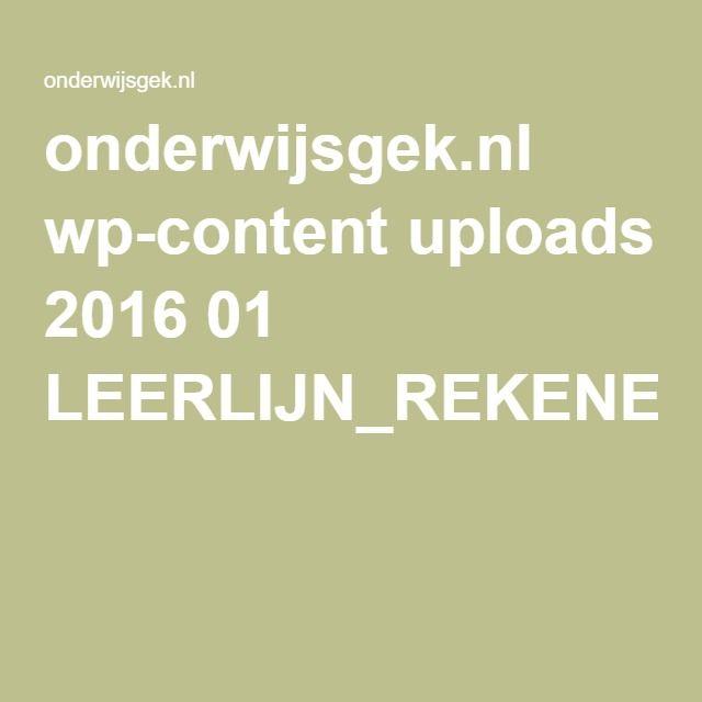 onderwijsgek.nl wp-content uploads 2016 01 LEERLIJN_REKENEN.pdf