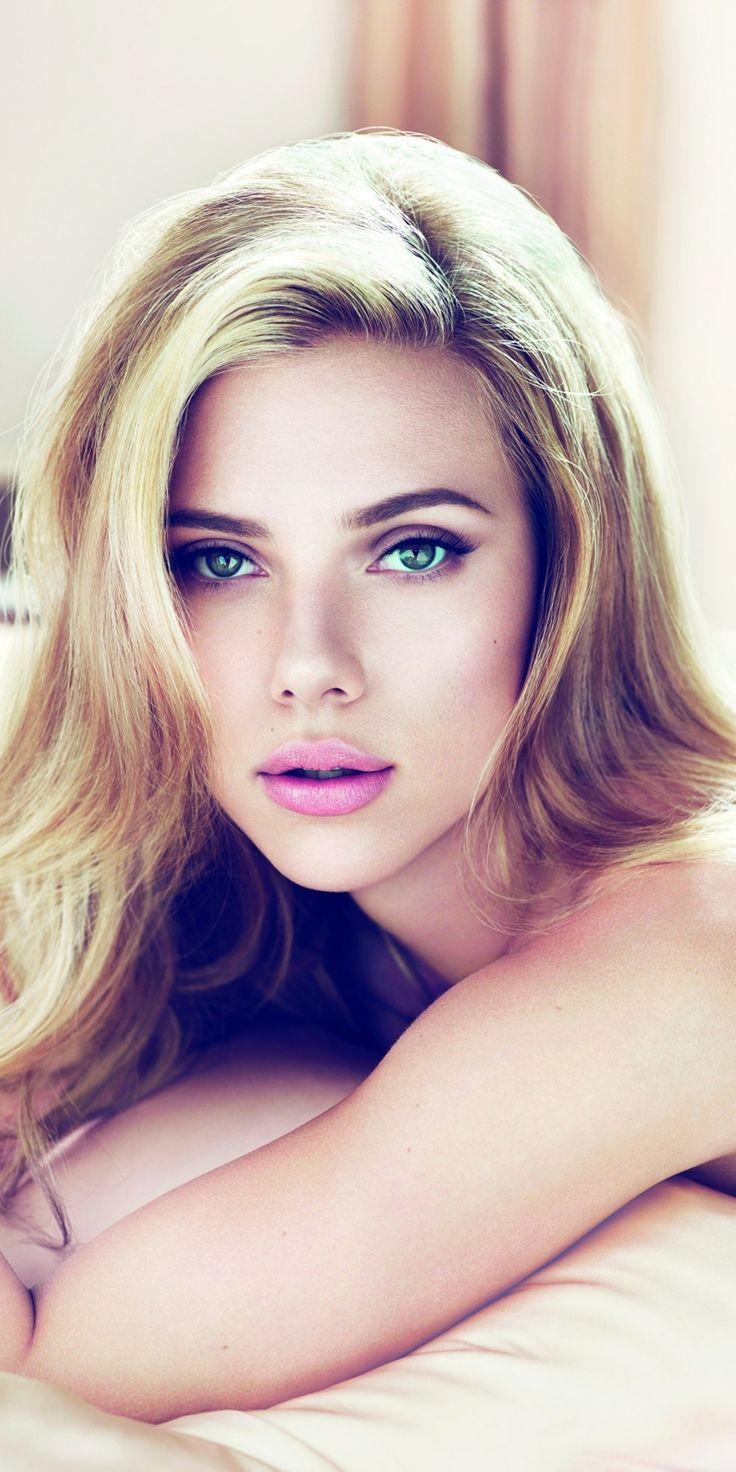 Beautiful, Scarlett Johansson, blue eyes, celebrity