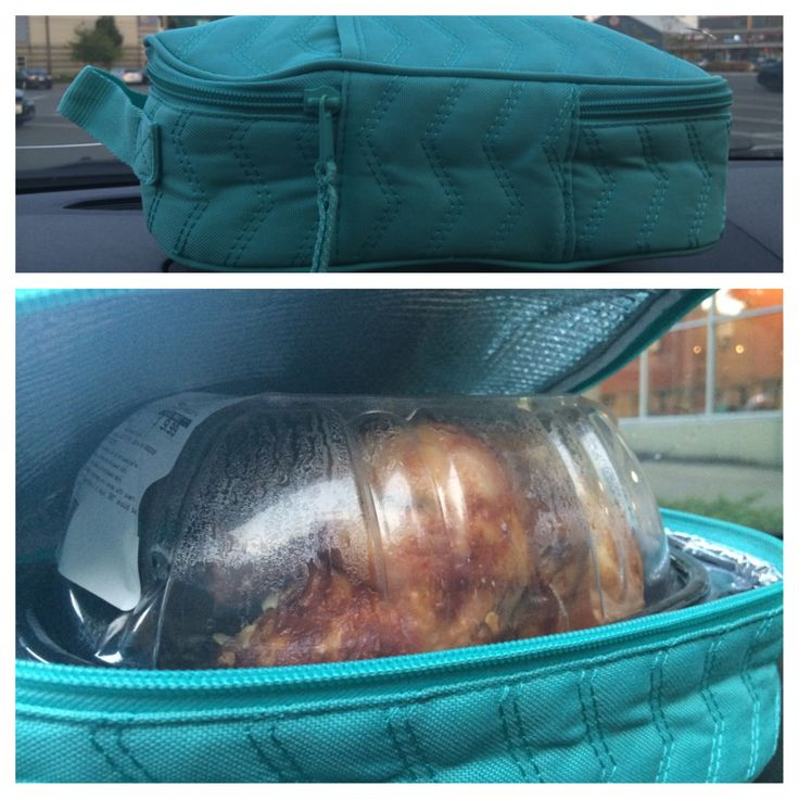 I used my Chillicious thermal today to keep my rotisserie chicken from Whole Foods warm - for TWO HOURS - while I ran a couple more errands on the way home!  Available now!!