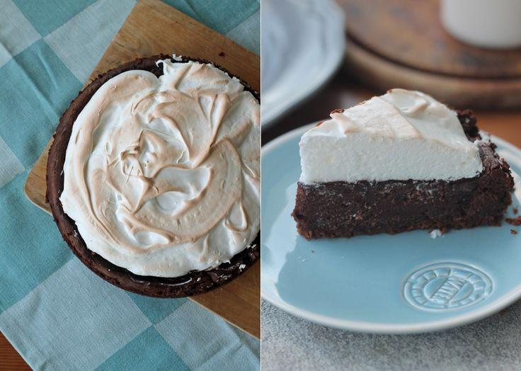 Schokoladen Schokokuss Cheesecake Rezept Kreativfieber