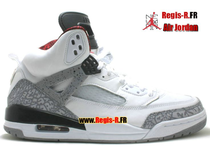 Air Jordan Spizike white cement grey varsity red black 315371 cheap Jordan  Spikize, If you want to look Air Jordan Spizike white cement grey varsity  red ...