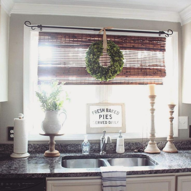 attractive How To Decorate A Kitchen Window #10: The Glam Farmhouse Kitchen