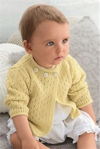 Babies Knitting Patterns Cardigan Pattern