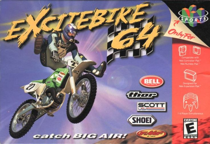 Nintendo classic 'Excitebike 64' skids its way onto Wii U - https://www.aivanet.com/2016/12/nintendo-classic-excitebike-64-skids-its-way-onto-wii-u/