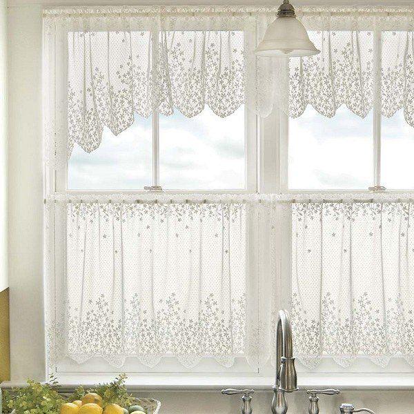 52 Best Kitchen Curtains Images On Pinterest  Kitchen Windows Prepossessing White Kitchen Curtains Design Inspiration