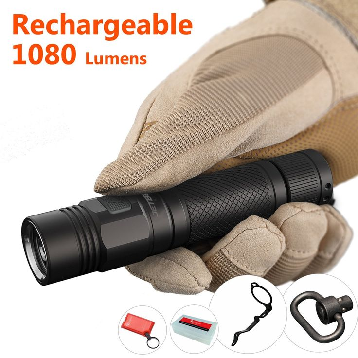 Today Deal: Best Cree LED USB Rechargeable EDC Flashlight with Strobe: JETBeam KO-01 Brightest High 1080 Lumen Camping 18650 Torch Flashlight with Clip, Cool Army-Gray Color, Waterproof >> Amazing outdoor product just a click away  : Camping stuff