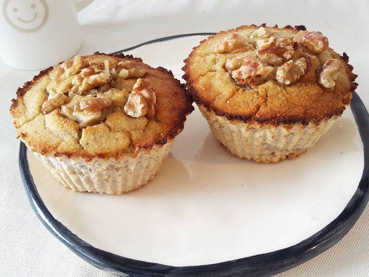 Muffins de coco y banana