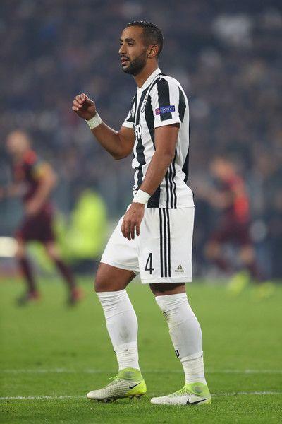 Medhi Benatia of Juventus during the UEFA Champions League group D match between Juventus and FC Barcelona at Juventus Stadium on November 22, 2017 in Turin, Italy.