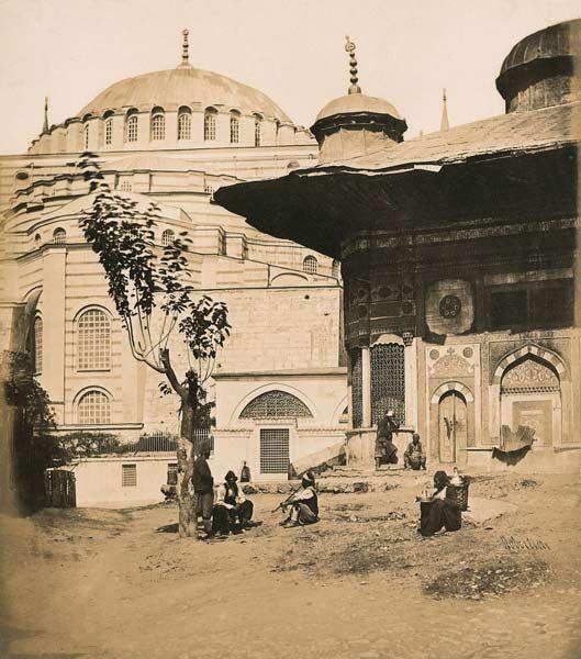 İstanbul, Ayasofya, 1854.