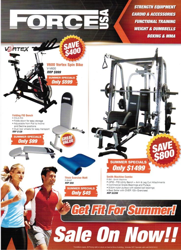 Elite Fitness Equipment Proud Supplier of Force USA Strength Equipment.