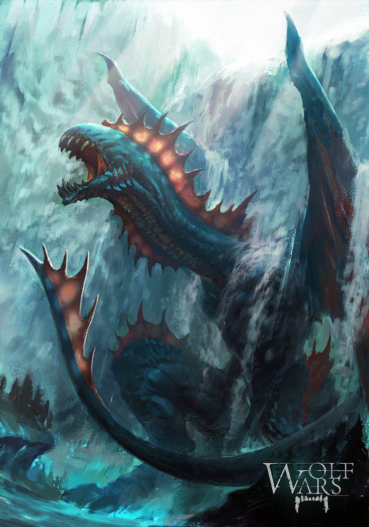 Dragon S Crown Gets New Character Art Screens Tarot: ArtStation - Dragons (scroll Down), Tibor Bedats