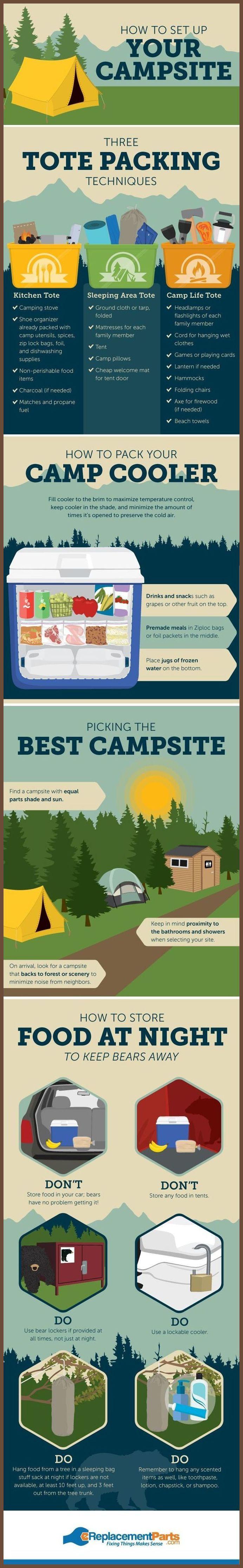 Les 28 meilleures images du tableau Camping Activities For Kids
