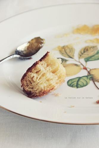 Brioche feuilletée au beurre d'agrumes //