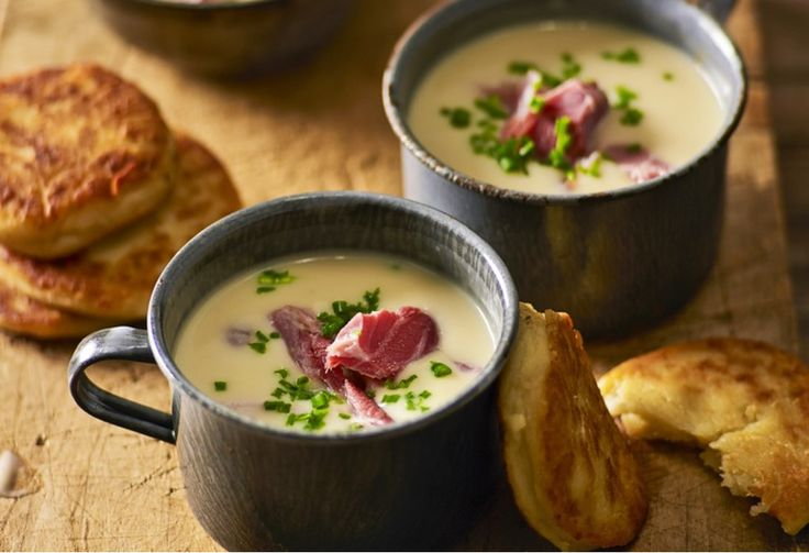 Creamy, luxurious and soup-erb on those chilly nights when you're best rugged up from the inside out. Love it!
