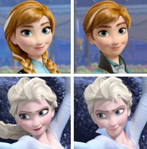 2023 Ha a Disney szereplők az ellenkező nemhez tartoznának