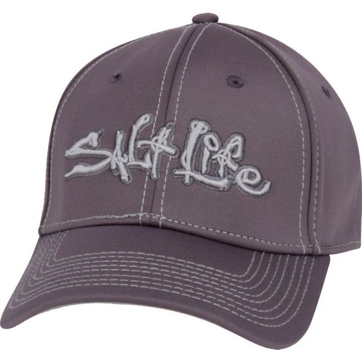 Salt Life Signature Technical Hat, Men's, Grey