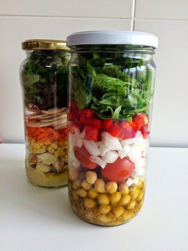 El blog healthy: El truco que debes conocer para llevar las ensaladas al trabajo