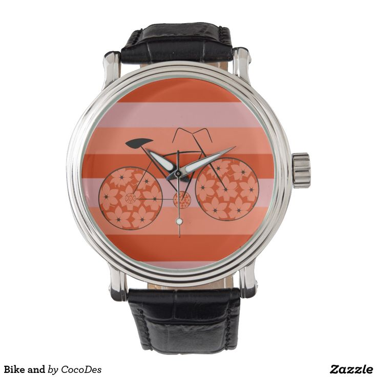 25% OFF ALL ORDERS     Memorial Day Savings Start Now! Use Code: MEMORIALSALE #watch #bike #ride #stripes #zazzle