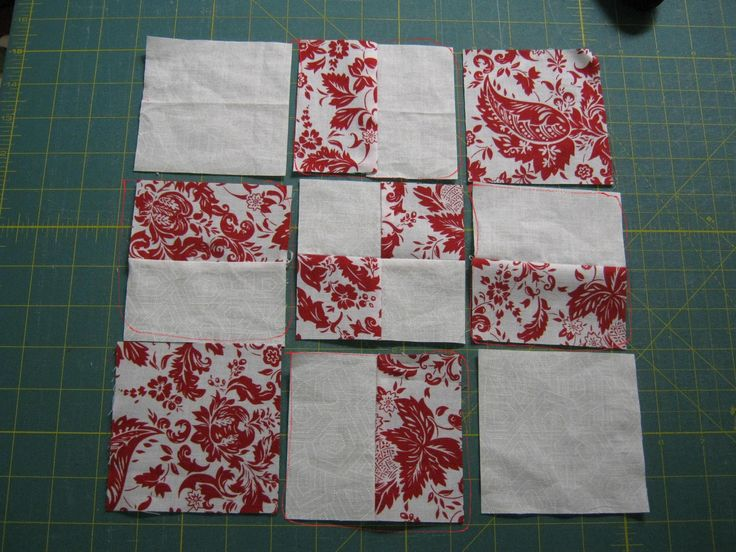 Free Charm Square Quilt Patterns | Free Quilt Patterns: Disappearing 9 Patch, 16 Patch and Twist/Turn ...