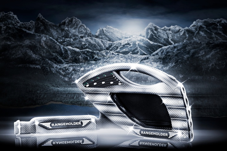 Looking for a gift for the golfer in the family? Visit www.rangeholder.com