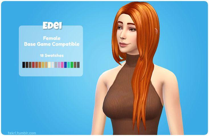Pin on Sims 4 CC   Sims hair, Womens hairstyles, The sims
