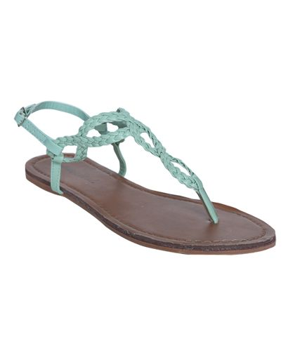 Braided Horseshoe Sandal - Teen Clothing by Wet Seal...for bridesmaids maybe?